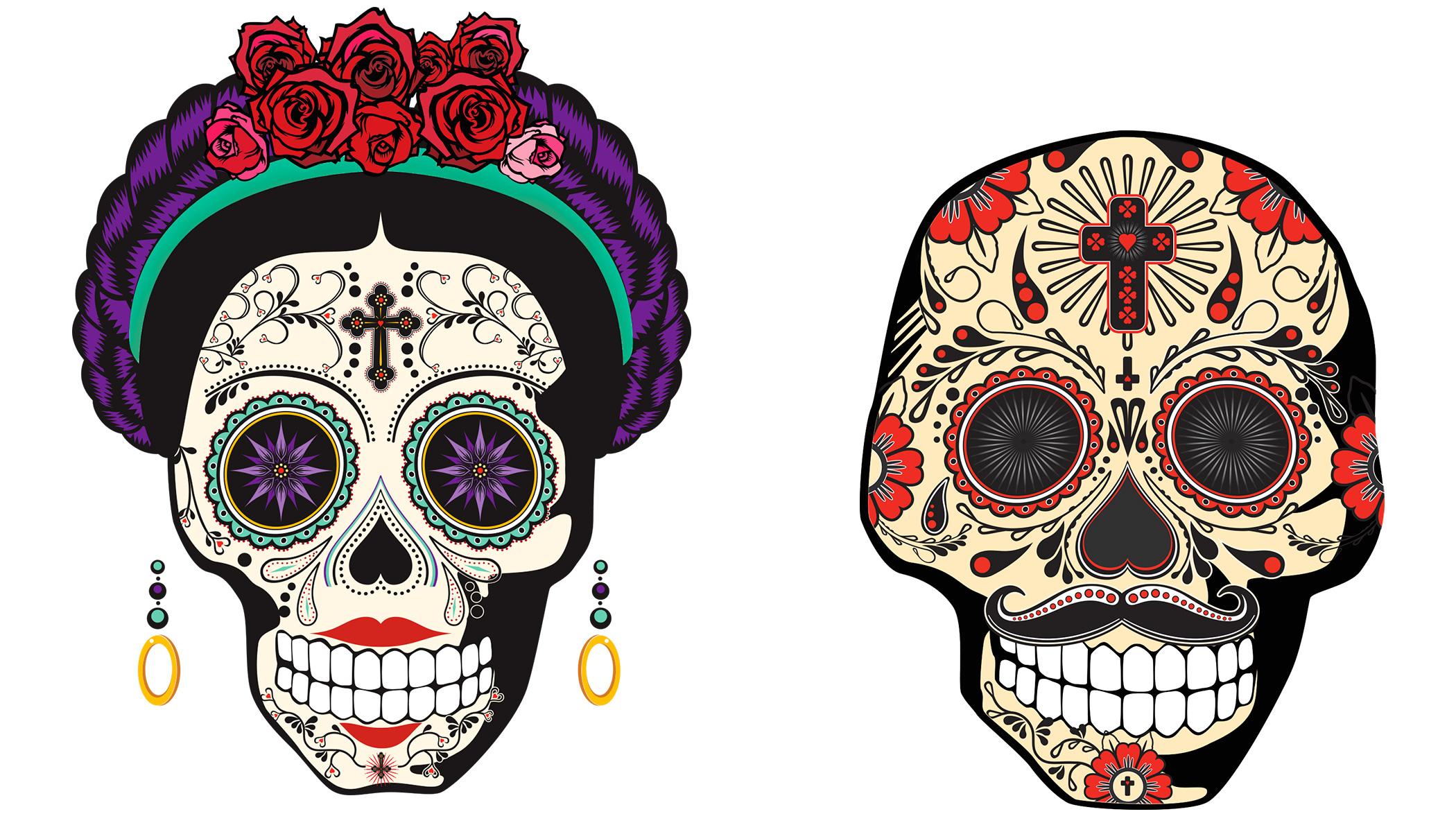 10 Steps To Make Your Facebook Group Go Viral - Ian David Chapman Dia de los muertos sugar skull pictures